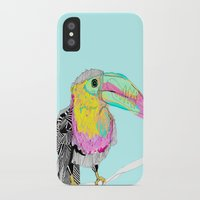toucan iPhone & iPod Cases featuring Toucan by caseysplace