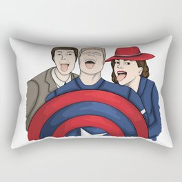 Team Carter Rectangular Pillow