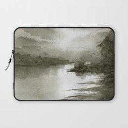 A Splash of Sepia Laptop Sleeve
