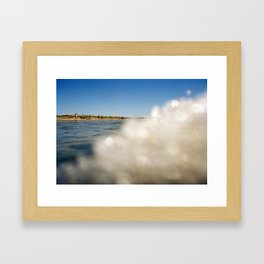 OceanSeries5 Framed Art Print
