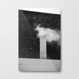 Steam Stick Metal Print
