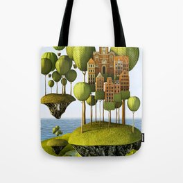 City in the Sky Tote Bag
