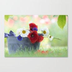 Poppies Symphonies Canvas Print