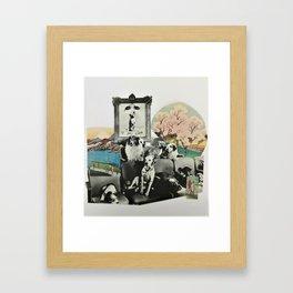 Strange Environment Framed Art Print
