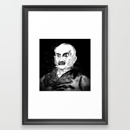 06. Zombie John Quincy Adams  Framed Art Print