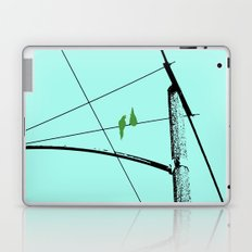 Love Birds Geometry Laptop & iPad Skin