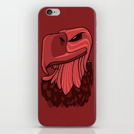 Eagle - Chile Oil Red iPhone Skin
