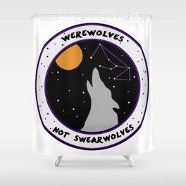 Werewolves Not Swearwolves Shower Curtain