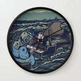 Symphony Of The Rising Tide Wall Clock