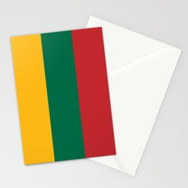 Flag of Lithuania Stationery Cards