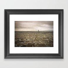 Paris - Montmartre Framed Art Print