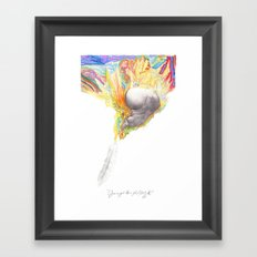 You've Got the Right Attitude! Framed Art Print