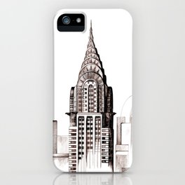Chrysler Building, NYC iPhone Case