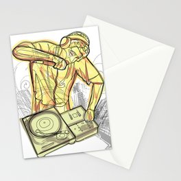 Dj Lines Stationery Cards