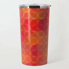 Stained Glass Sunrise Travel Mug
