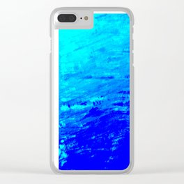 Moon Casting in to the Sea Clear iPhone Case