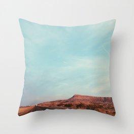 Texas I-10 Throw Pillow