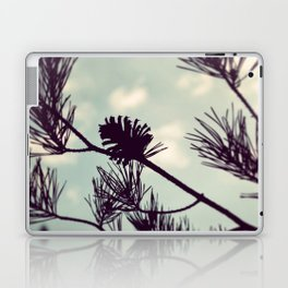 Pinecone Silhouette Laptop & iPad Skin