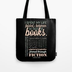 Folded Between the Pages of Books - Pastel Tote Bag