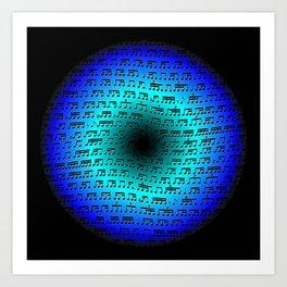 Rhythm Portal Art Print