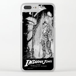 Indiana Jones and the Temple of Doom Clear iPhone Case