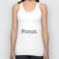 focus Tank Tops featuring Focus by Silver Rain