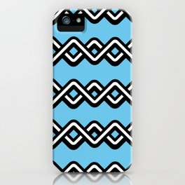 Digital weave iPhone Case