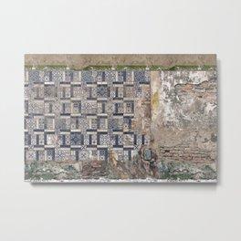 Old Greece House Metal Print