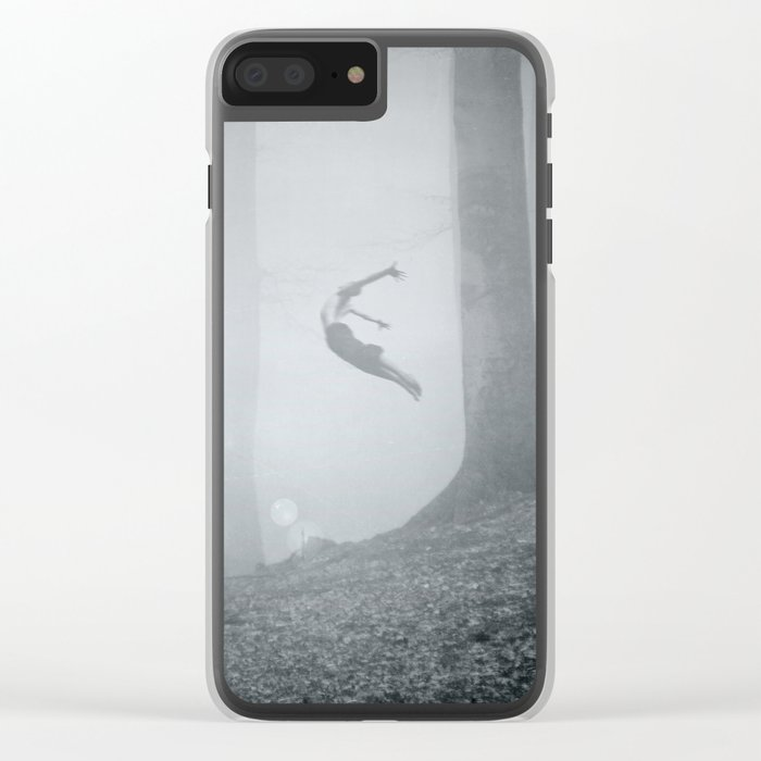 free spirit Clear iPhone Case