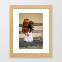 Pup 2 Framed Art Print