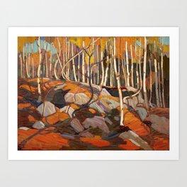 Tom Thomson The Birch Grove Autumn Canadian Landscape Artist Art Print