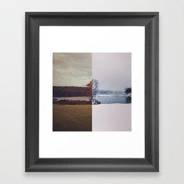 Fall / Winter Framed Art Print