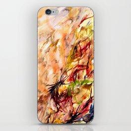 Autumnal Dialog iPhone Skin