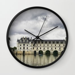 Chateau de Chenonceau Wall Clock