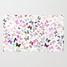 Butterfly Paradise Rug