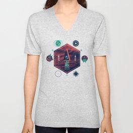 It fell from the stars, It rose from the sea Unisex V-Neck