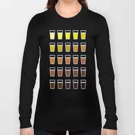 The Colors of Beer Long Sleeve T-shirt