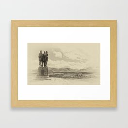 Commando Memorial 3 Framed Art Print