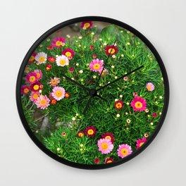 Flowers Blossom  #Society6 #decor #buyart Wall Clock
