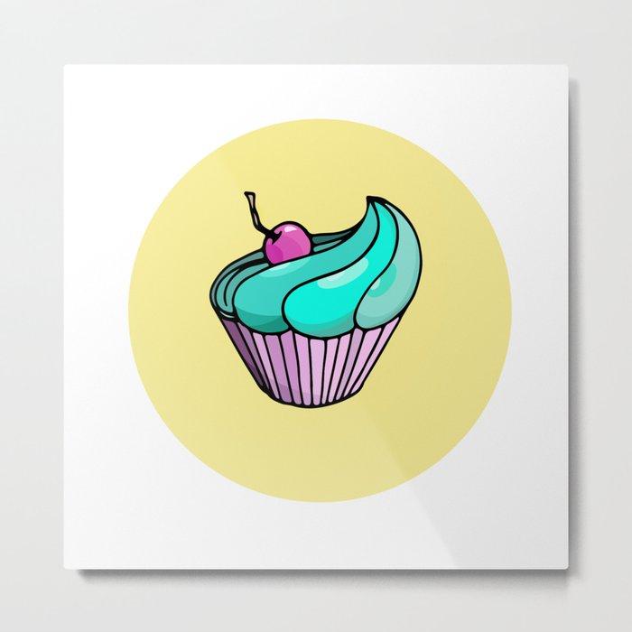Sweet muffin Metal Print