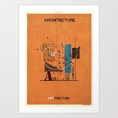 07_ Architecture_ARTitecture Art Print