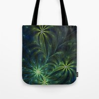 weed Tote Bags featuring Weed by Eli Vokounova
