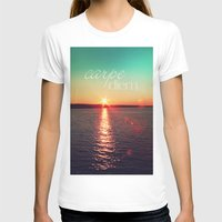 carpe diem T-shirts featuring carpe diem by Sylvia Cook Photography