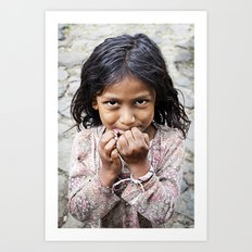 The Girl from San Esteban Catarina Art Print