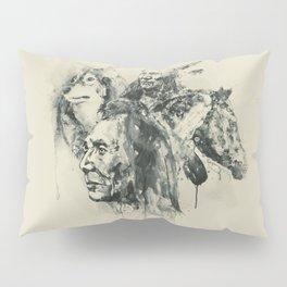 Native Heritage Vintage Collage Pillow Sham