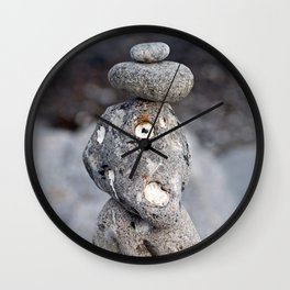 STONES of the Baltic Sea Wall Clock