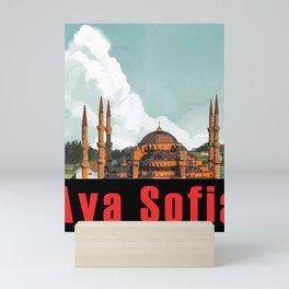 Aya Sofia Mini Art Print