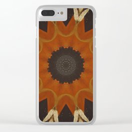 Shaman's Drum Clear iPhone Case