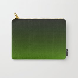 Ombre Lemon Green Carry-All Pouch