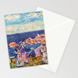 """Maurice Prendergast """"On the Beach"""" Stationery Cards"""